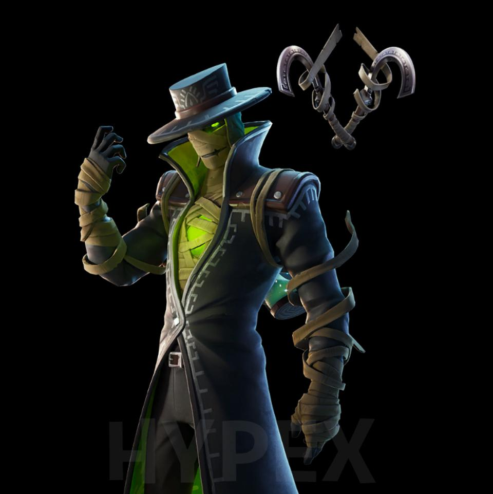 Here Are All Fortnite S New Leaked Wicked Halloween Skins