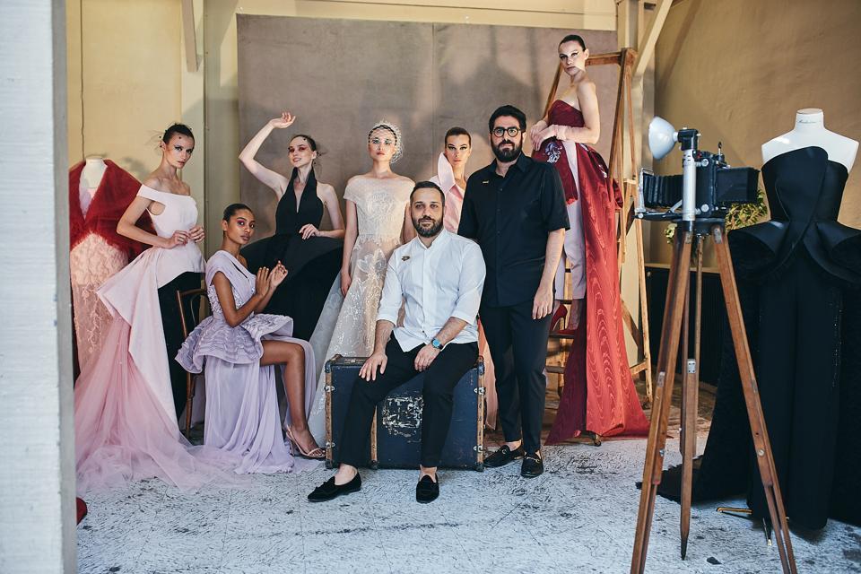 Azzi Osta Two Rising Stars Of Lebanese Fashion Industry