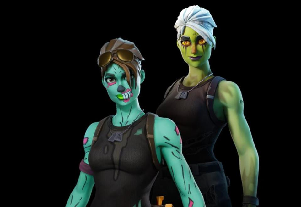 The Ghoul Trooper Skin Is Coming Back To Fortnite S Item