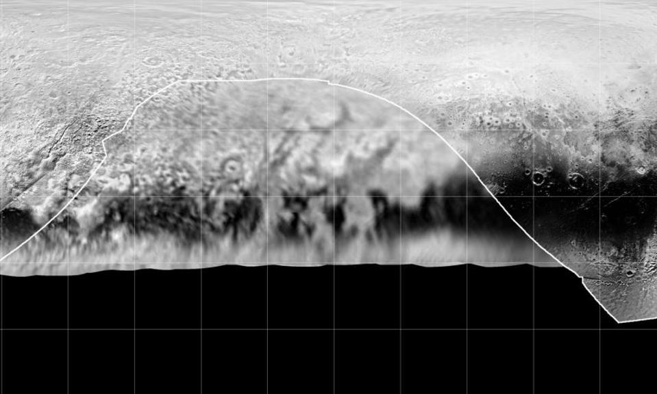 Pluto's far side