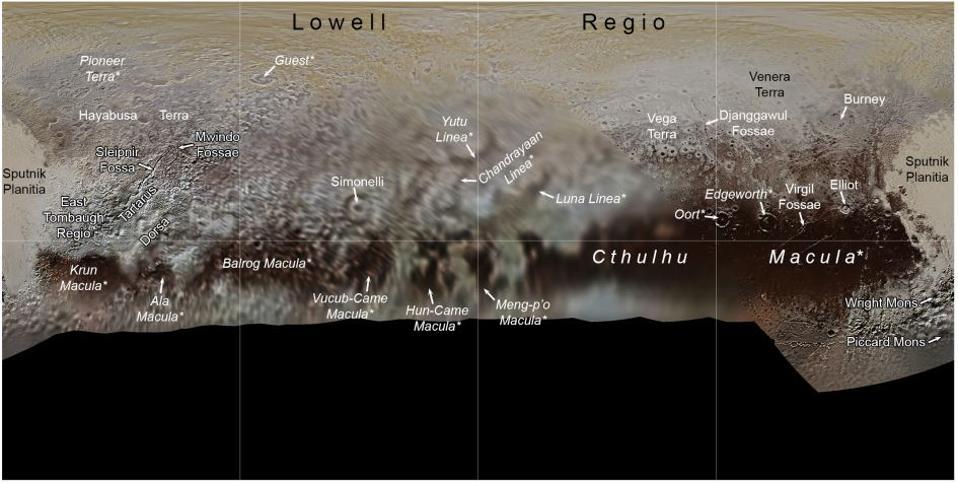 Pluto far side map