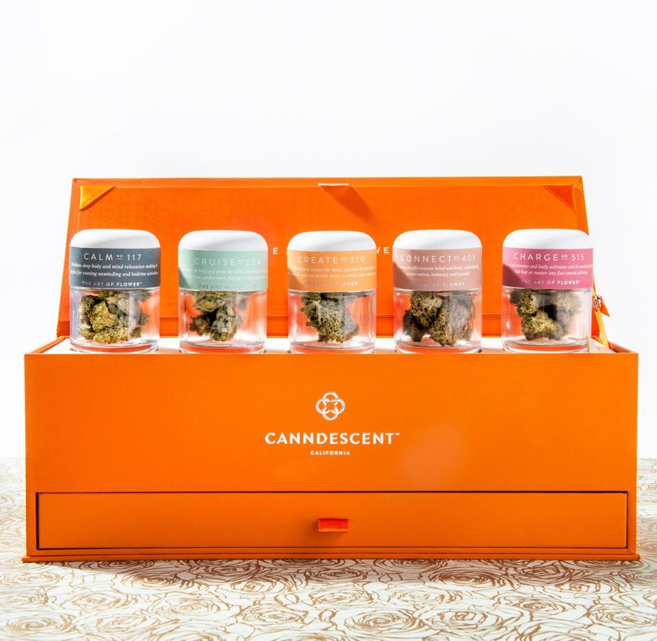 Canndescent, cannabis, luxury cannabis