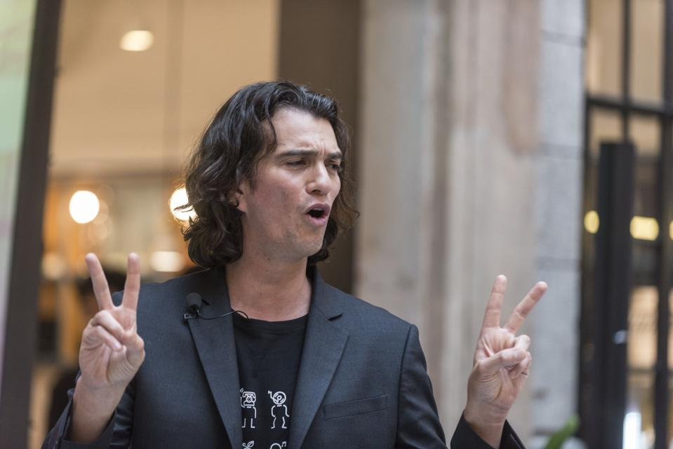 SoftBank's WeWork Takeover Leads To $1.7 Billion Deal For Adam Neumann