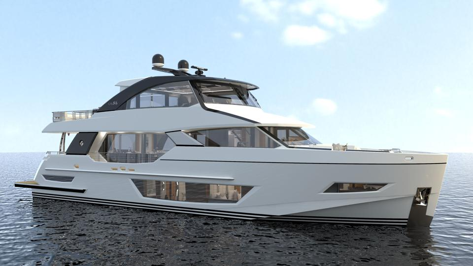 The new Ocean Alexander 84.