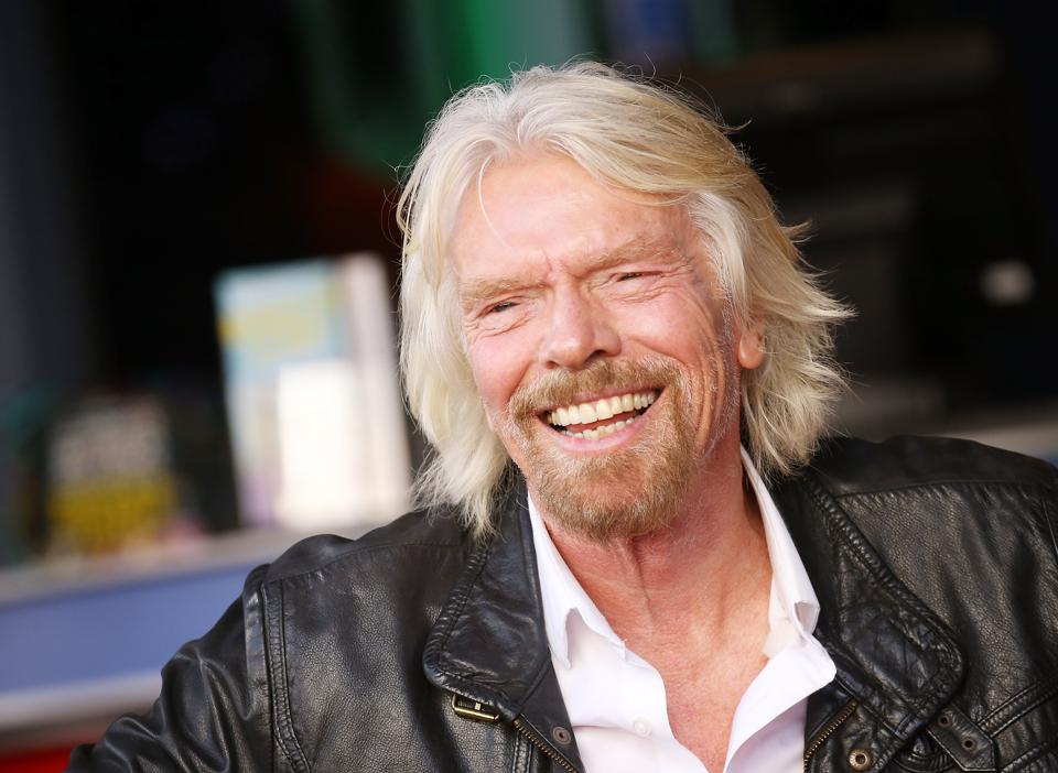 Sir Richard Branson Honored With Star On The Hollywood Walk Of Fame