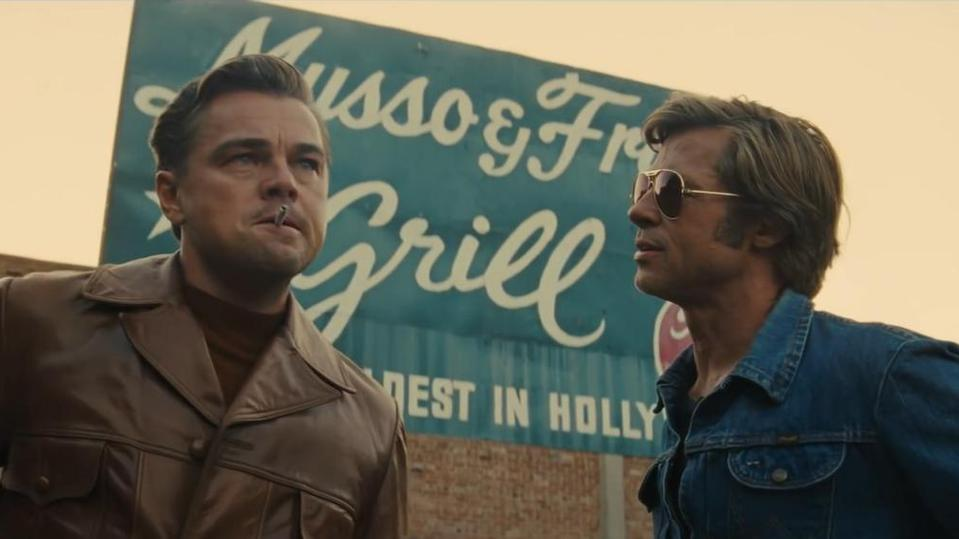 Once upon a time in hollywood online