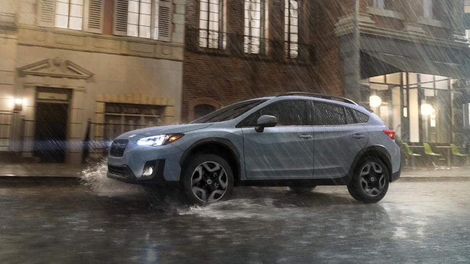 The Subaru Crosstrek costs the least to insure, on average, among the 52 models awarded Top Safety Pick+ status by the Insurance Institute for Highway Safety.