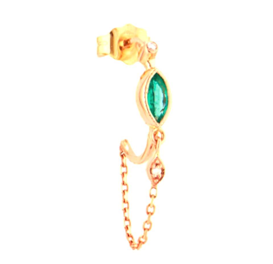 Geometric three-dimensional disc earrings For Women Jewelry Vintage Earring TOP