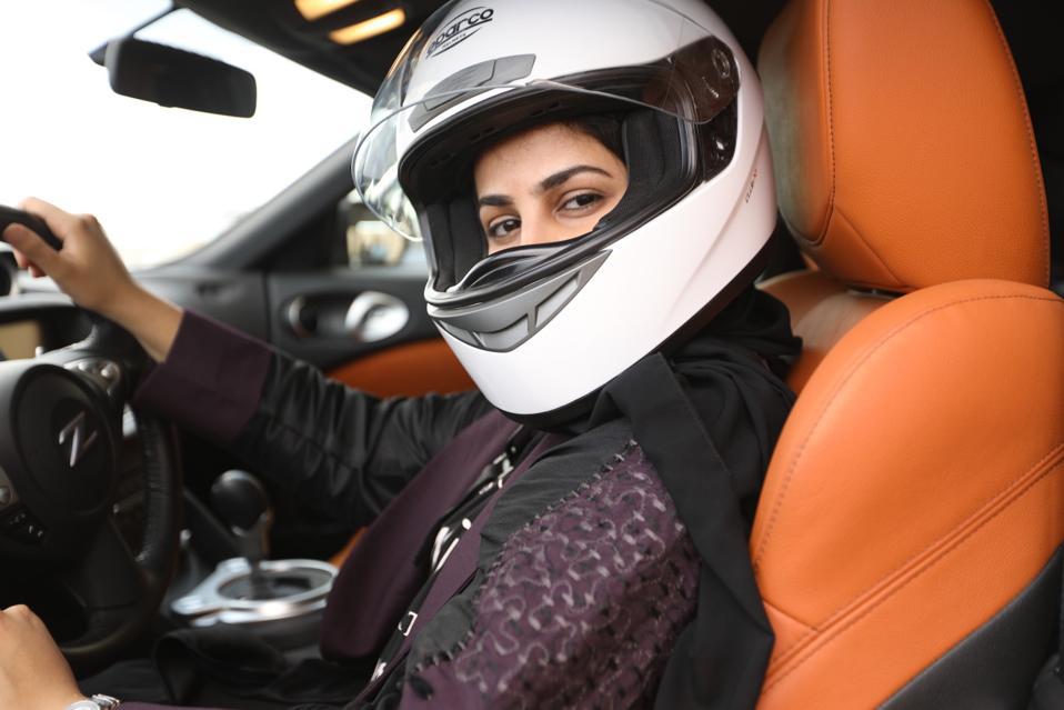 A scene from HBO's ″Saudi Women's Driving School″