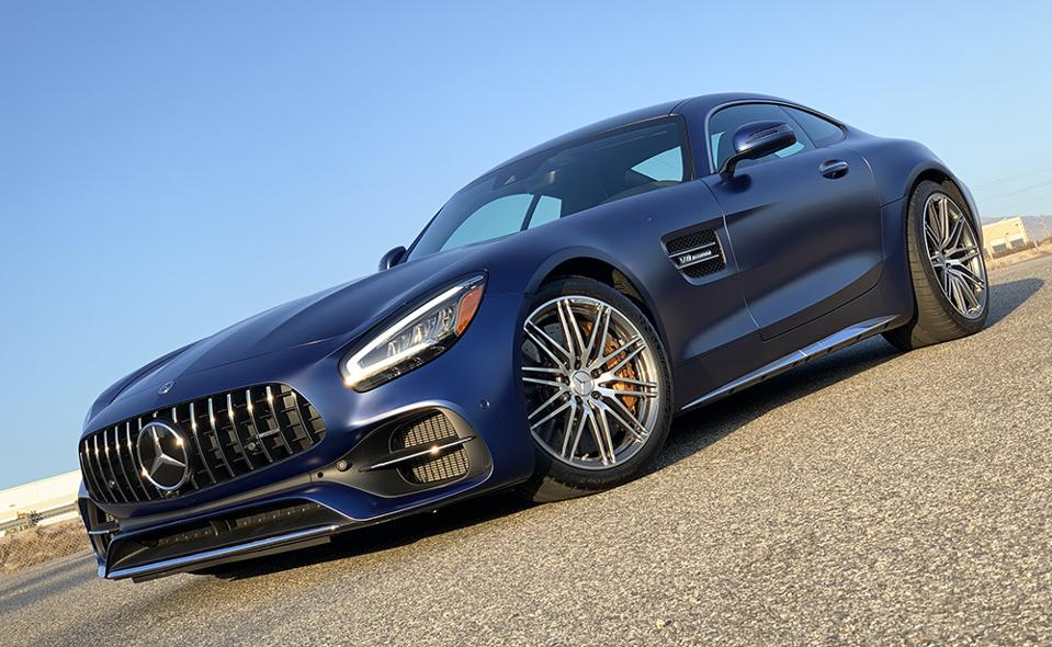 Road Test Review: 2020 Mercedes-AMG GT C Coupe