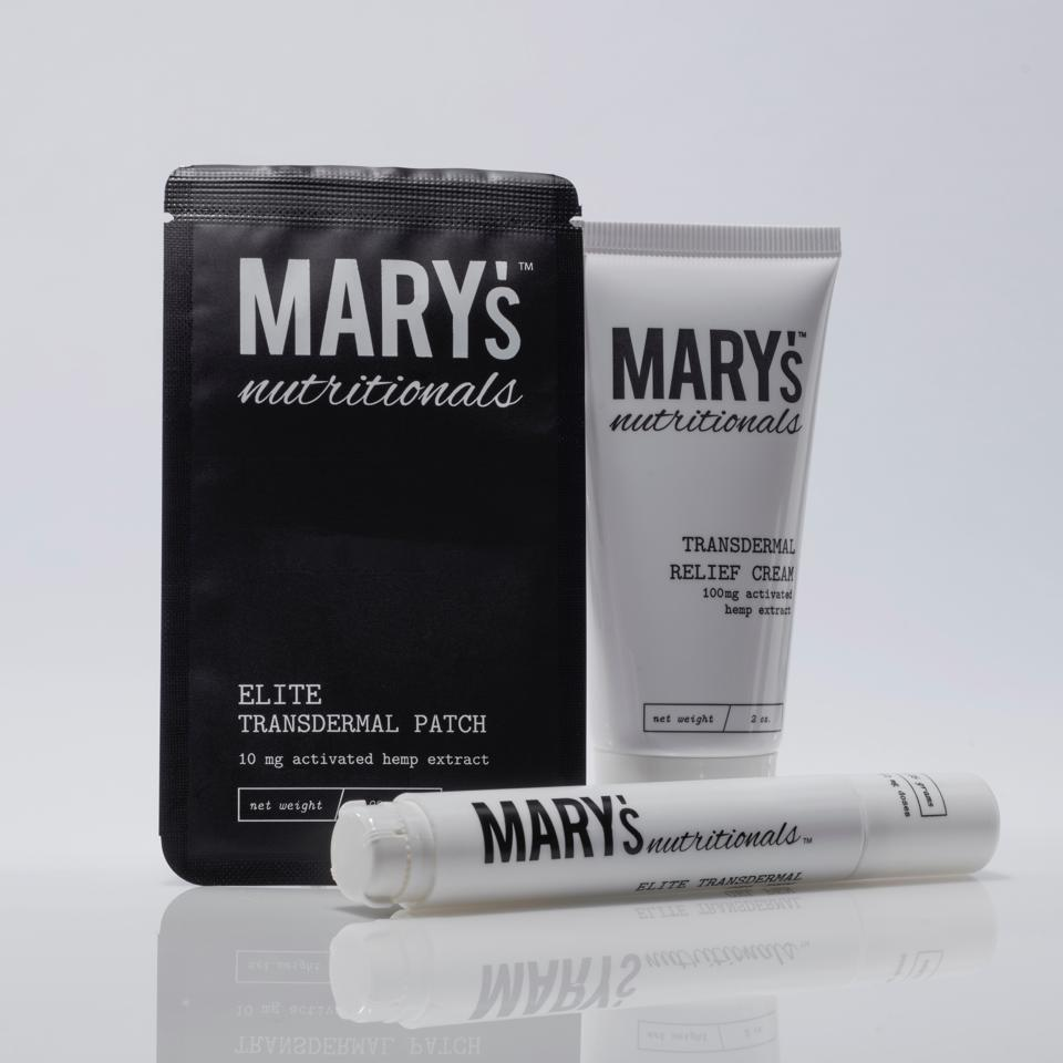 Mary's Nutritionals, CBD wellness, luxe cannabis