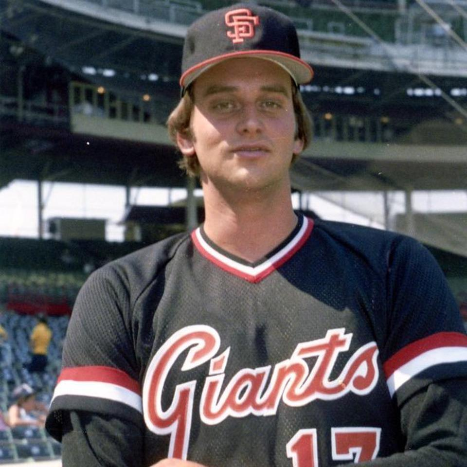Bob Tufts pictured here in this personal photo with the San Francisco Giants.