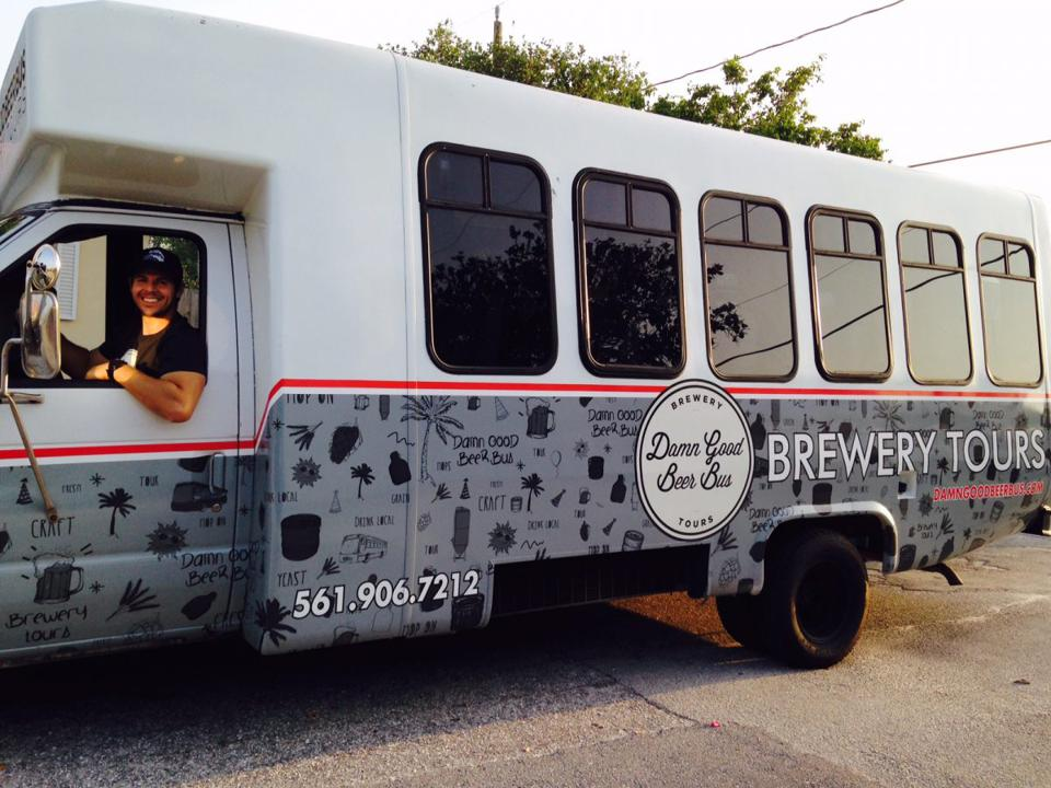 South Florida breweries are the destinations for this tour bus.