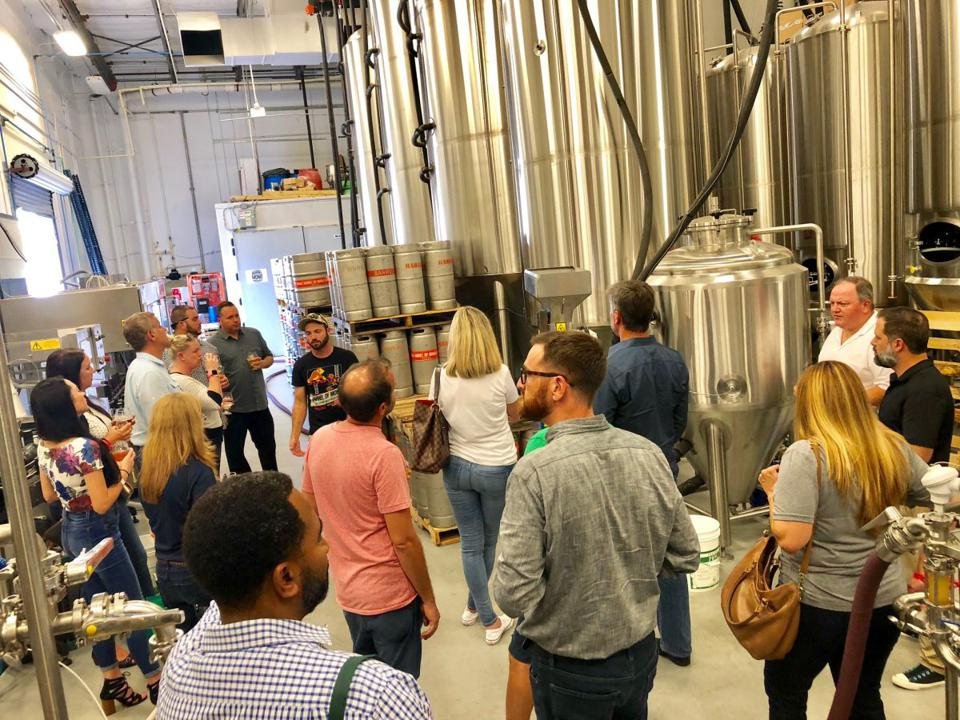 Beer lovers book bus tours to Palm Beach County breweries.