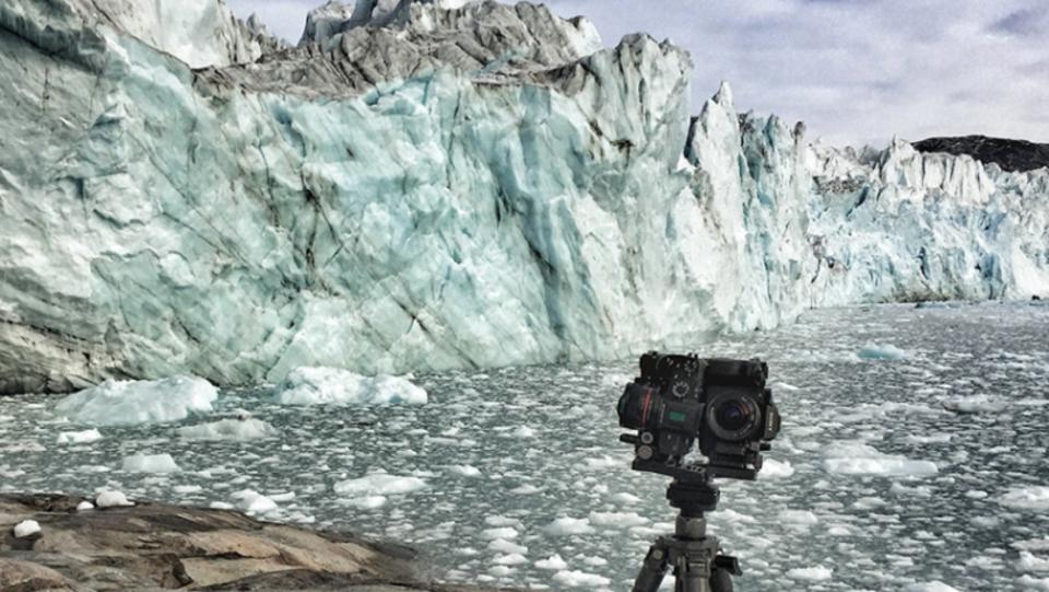 ice cap melting
