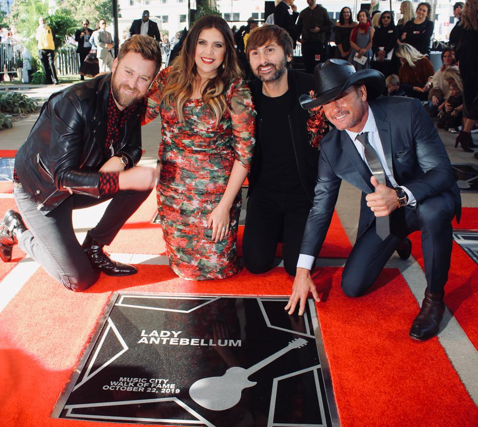 Lady Antebellum, Clint Black & Others Added To Music City 'Walk Of Fame'
