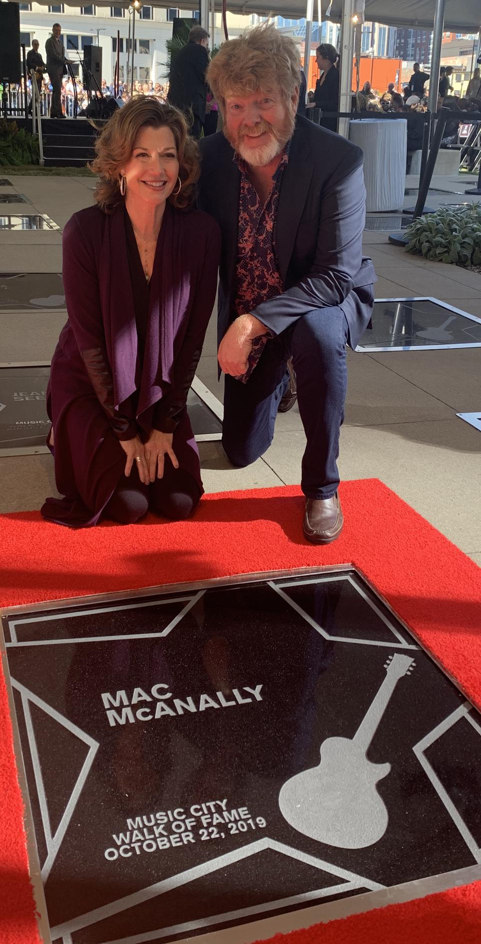 Amy Grant and Mac McAnally