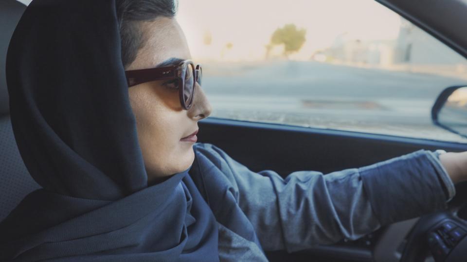 A still from ″Saudi Women's Driving School″