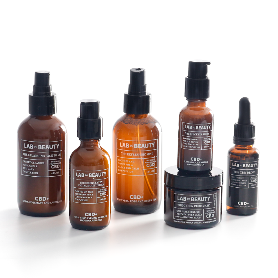 Lab to Beauty, CBD-huidverzorging, luxe cannabis, LMCC