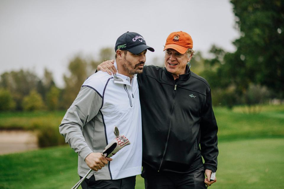 Christopher McDonald and Brent Sopel