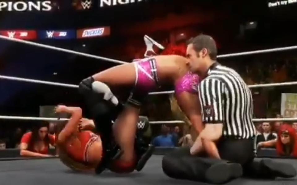 WWE 2k20 glitches WWE 2k AEW Video Game Edge PO Box Charlotte Referee