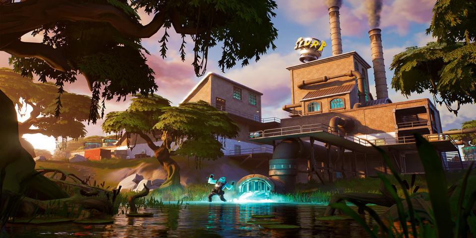 Fortnite Letter R Location Where To Find The Hidden R