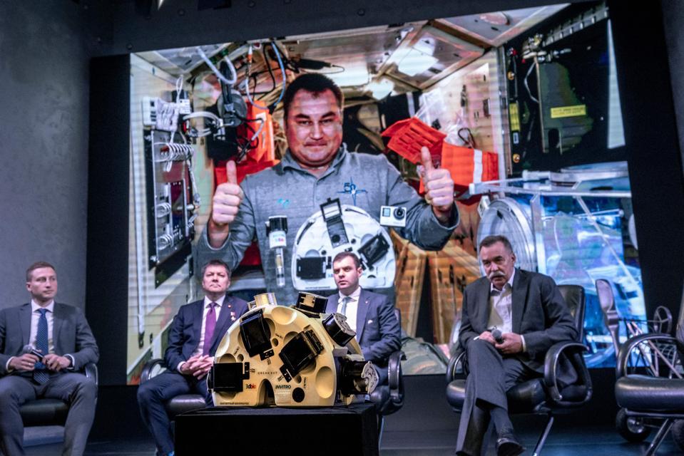 3D printing, bioprint, space station, international collaboration, digital factory