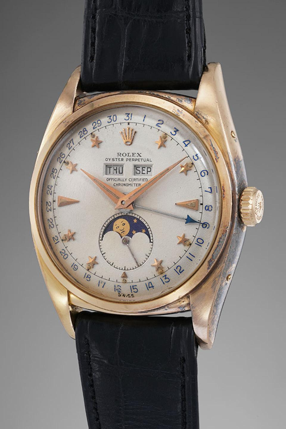 This Rolex Ref. 6062 ″Stelline is being sold by Phillips for CHF 1-2-million.