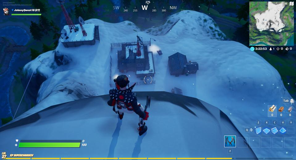 Fortnite Weather Station Location Where To Dance At A