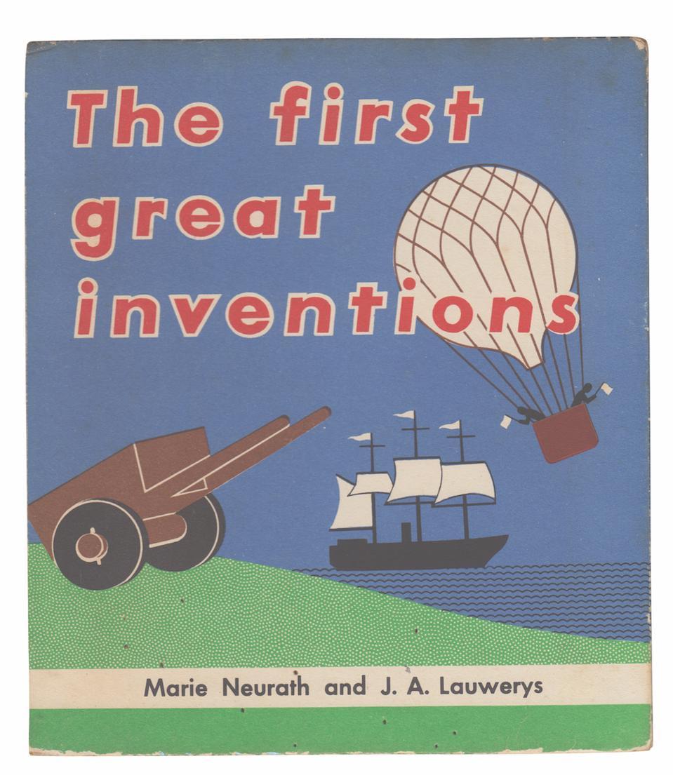 Marie Neurath book cover design 1951