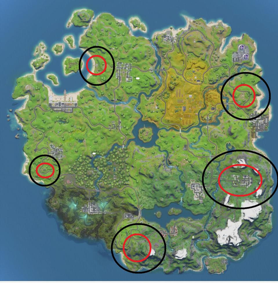 Fortnite Ego Outpost Locations Where To Eliminate