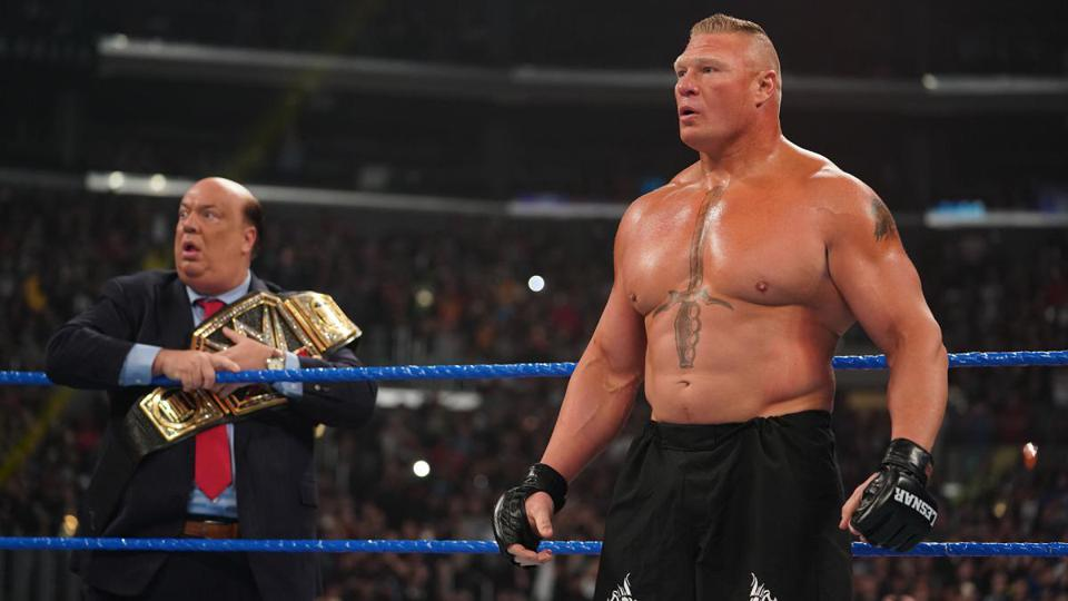 WWE Fans Should Expect To See More Of Brock Lesnar Moving Forward