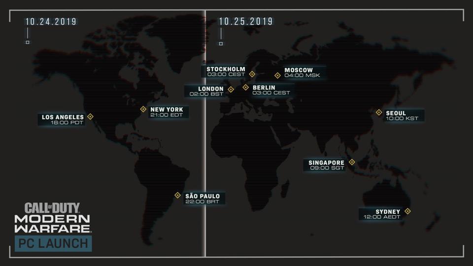 Call Of Duty Modern Warfare\u0027 Launch Time Here\u0027s When You
