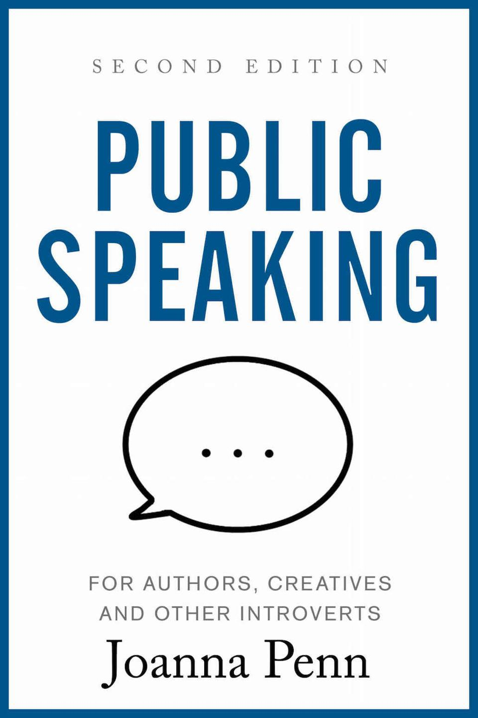 Public Speaking for Authors, Creatives and Other Introverts by Joanna Penn