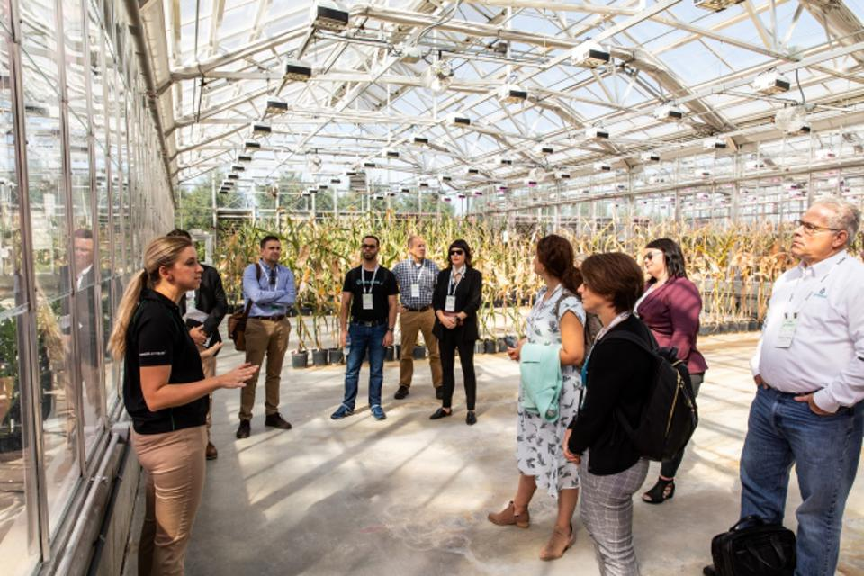 Beck's Hybrid Farm Presentation during Forbes AgTech Indianapolis Summit 2019