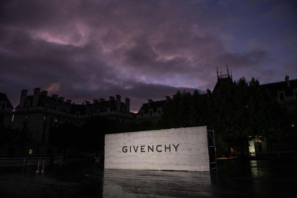Outside Givenchy SS20 Show