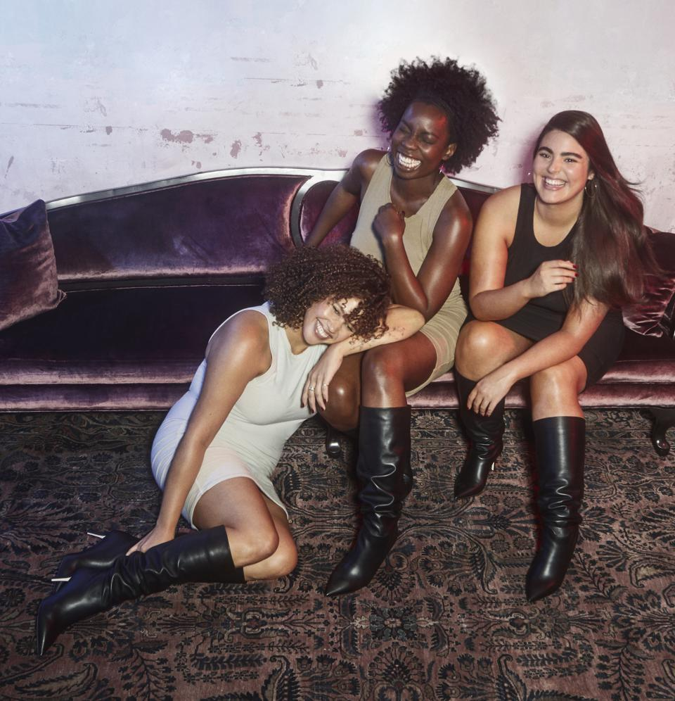 Alessandra Garcia Lorido, Matisse and Adepero Oduye in the Icon Boot