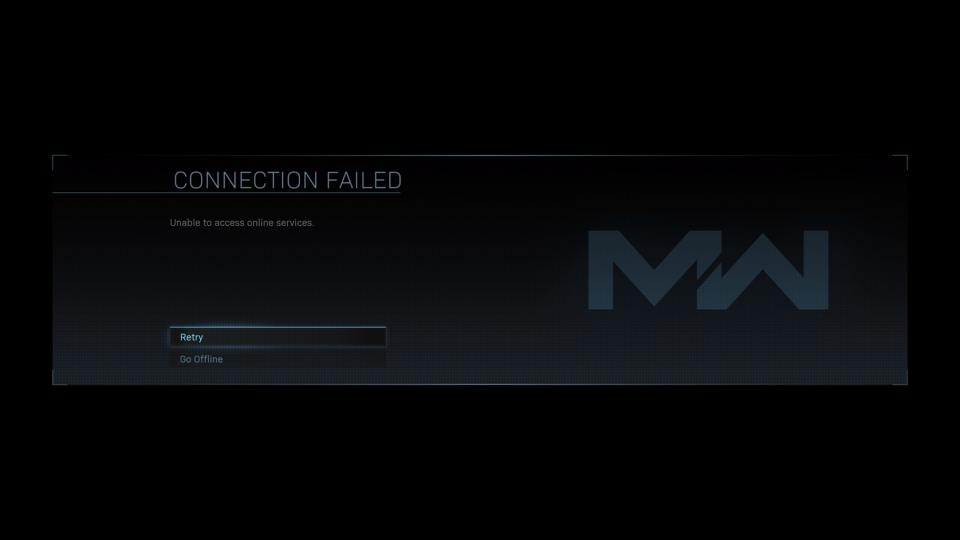 Call Of Duty Modern Warfare launches tonight Servers Failed and Back Online - Connection Failed Modern Warfare