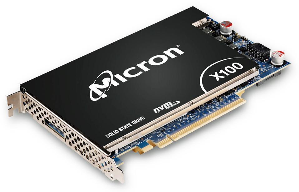 The Micron X100 NVMe SSD