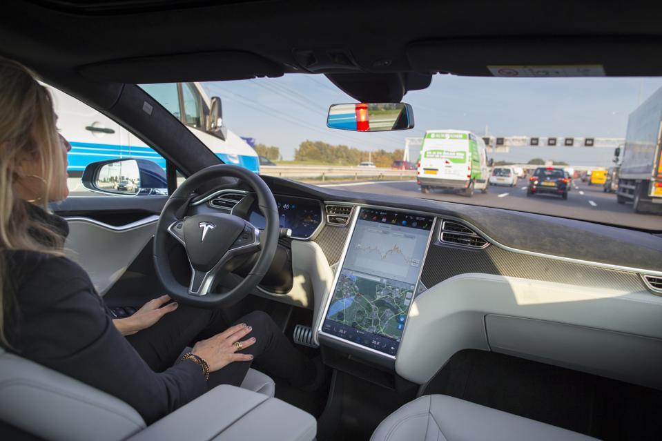 Tesla Motors Inc. Tests Self-Driving Technology