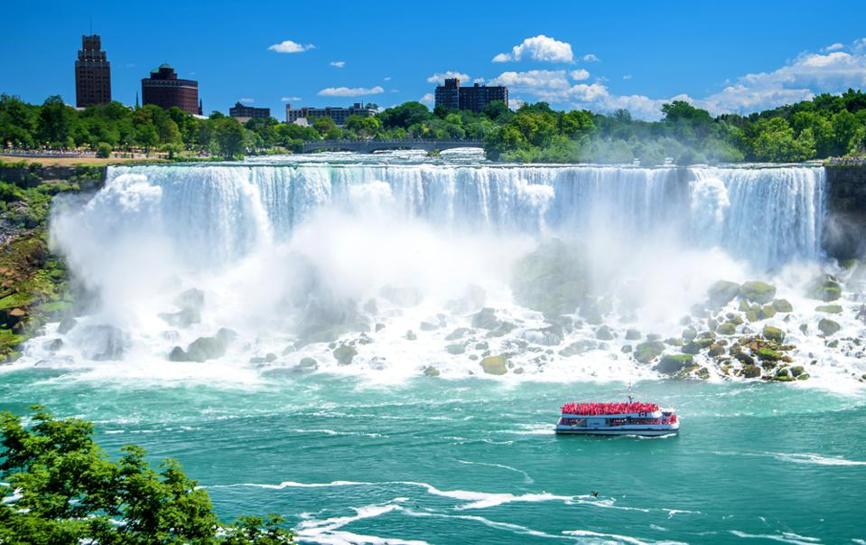 Niagara Falls is the most photographed waterfall in the world thanks to travelers.