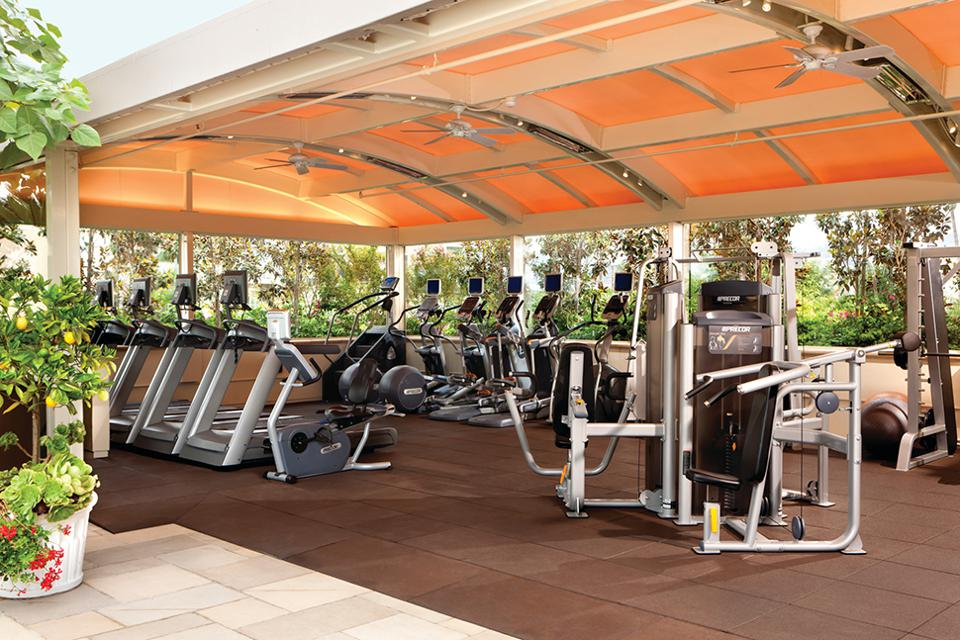 Four Seasons Hotel Los Angeles at Beverly Hills' Indoor/Outdoor Gym