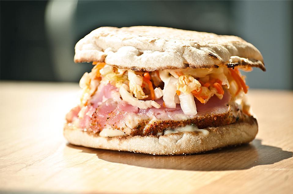 Seared Ahi Tuna Sandwich