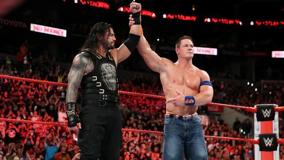 WWE: Roman Reigns and John Cena