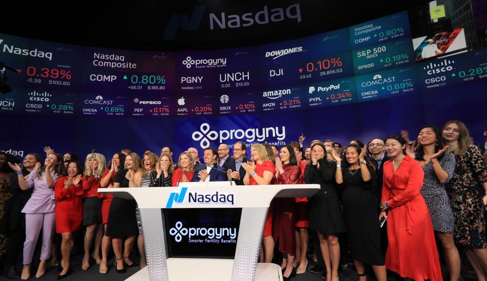 Progyny's IPO, Opening Bell Ceremony