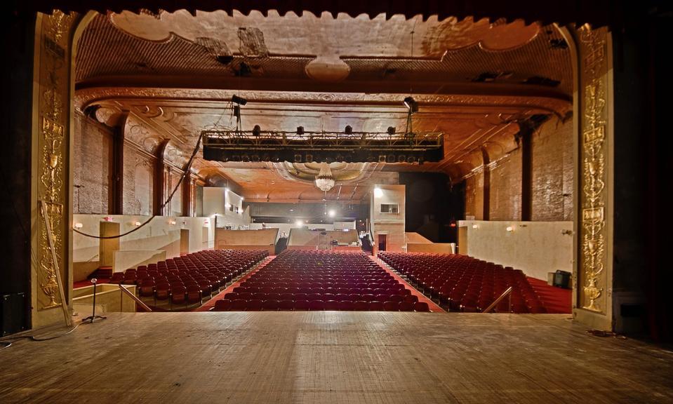 William Center vaudeville theater