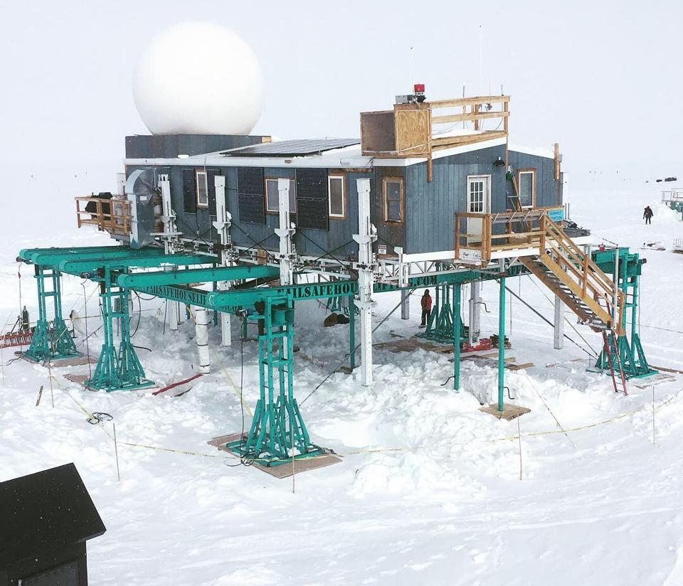 Kradle's Arctic Elevation Platform