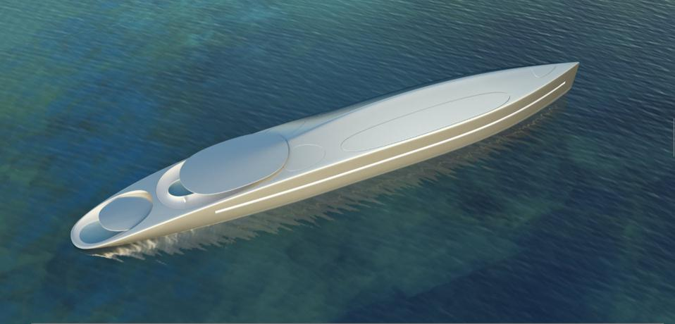 Superyacht L from Thierry Gaugain