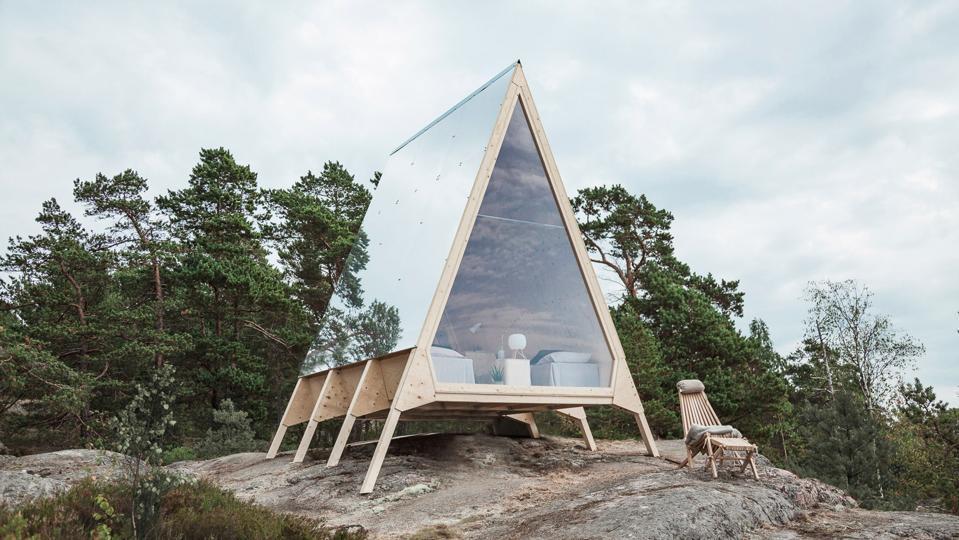 nolla cabin neste sustainable finland airbnb zerobnb