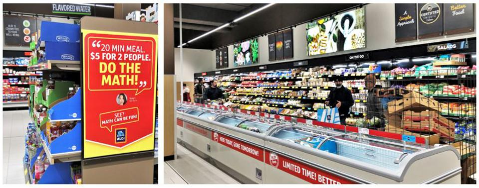 Aldi's basics combine with a ″treasure hunt″ of constantly changing high value offerings.